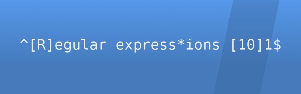 Expresiones regulares con regex101
